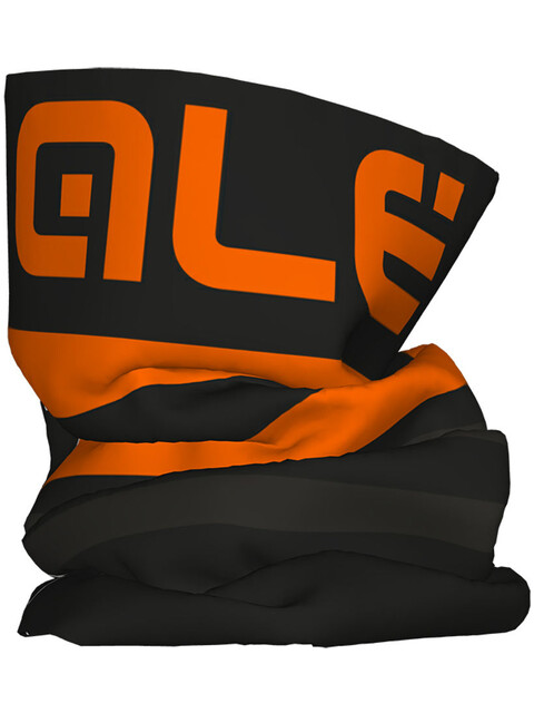 Alé Cycling Piuma Headgear Black Fluo Orange